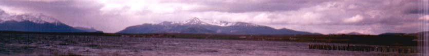 Views from Puerto Natales - Chile